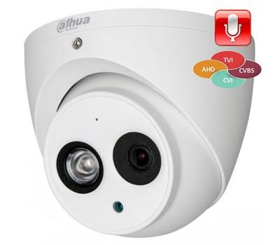 Гибридная видеокамера DH-HAC-HDW1220EMP-A-0280B-S3 Dahua