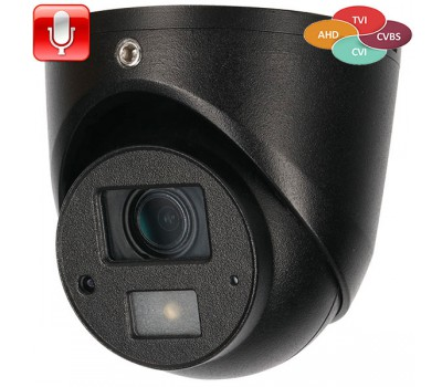 DH-HAC-HDW1220GP-0360B Гибридная видеокамера Dahua