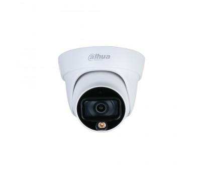 Видеокамера HDCVI Уличная купольная мультиформатная DH-HAC-HDW1239TLP-LED-0360B