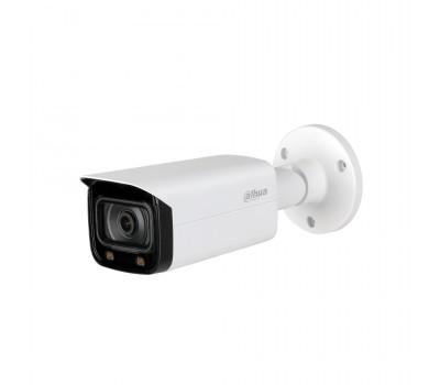 Уличная цилиндрическая HDCVI-видеокамера Full-color Starlight DH-HAC-HFW2249TP-I8-A-LED-0600B