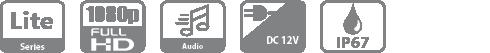 DH-HAC-HFW1239TLMP-LED-0360B HDCVI видеокамера Dahua