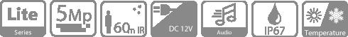 HDVCI видеокамера DAHUA DH-HAC-HFW1500RP-Z-IRE6-A