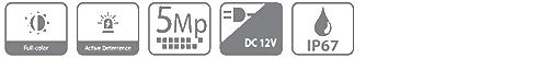 HDVCI видеокамера DAHUA DH-HAC-ME1509THP-PV-0600B